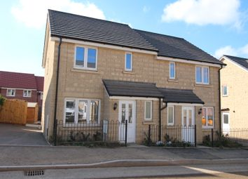 Thumbnail 2 bedroom semi-detached house for sale in Prince Charles Drive, Calne