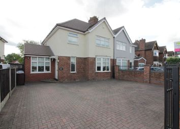 Thumbnail 3 bed semi-detached house for sale in Higher Road, Hunts Cross, Liverpool