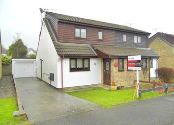 Thumbnail 3 bed semi-detached bungalow for sale in Gregory Close, Pencoed, Bridgend