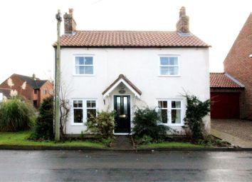 Thumbnail 4 bedroom detached house for sale in Station Road, Cranswick, Driffield