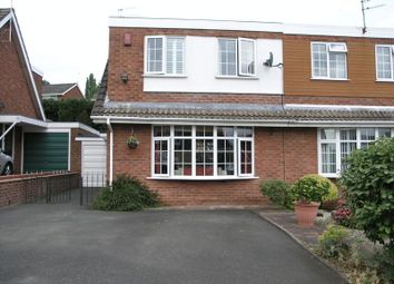 Thumbnail 2 bed semi-detached house for sale in Clivedon Way, Halesowen