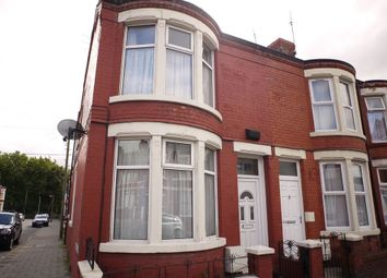 Thumbnail 3 bed end terrace house to rent in Poulton Road, Wallasey