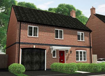 "Thumbnail 4 bed detached house for sale in ""The Geneva"" at Stoney Lane, Appleby Magna, Swadlincote"
