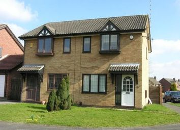 Thumbnail 2 bed semi-detached house to rent in Swift Close, Mickleover, Derby