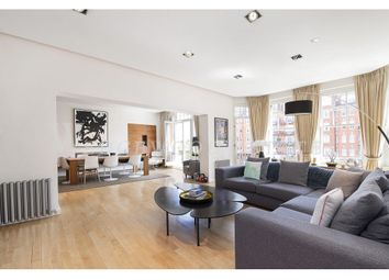 Thumbnail 5 bed flat to rent in Oakwood Court, Kensington, London