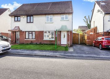Thumbnail 3 bed semi-detached house for sale in Moraunt Drive, Portchester, Fareham