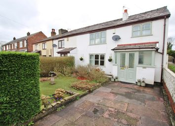 Thumbnail 3 bed cottage for sale in Fearnhead Lane, Fearnhead, Warrington