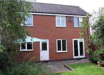 Thumbnail 3 bed town house to rent in Hubbard Road, Burton-On-The-Wolds, Loughborough