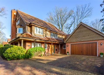 Thumbnail 4 bed detached house for sale in Laurel Bank, Burghclere, Newbury, Hampshire