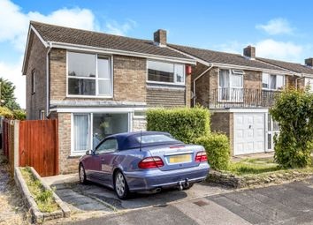 Thumbnail 3 bed detached house for sale in Churcher Close, Gosport