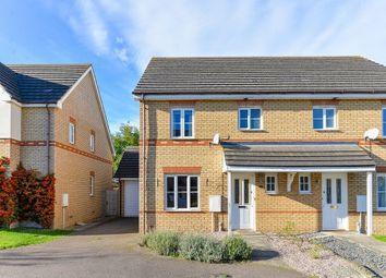 Thumbnail 3 bed semi-detached house to rent in Titchmarsh Close, Royston