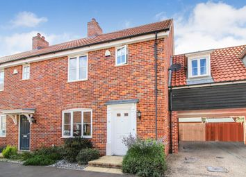 Thumbnail 3 bedroom semi-detached house for sale in Vanguard Chase, Norwich