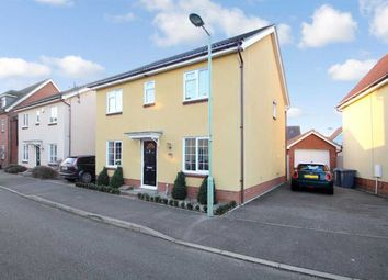 Thumbnail 4 bedroom detached house for sale in Spindler Close, Grange Farm, Kesgrave, Ipswich