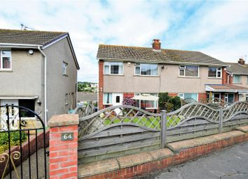 Thumbnail 3 bedroom semi-detached house for sale in Cornwall Rise, Barry
