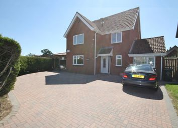 Thumbnail 4 bed detached house for sale in Blenheim Drive, Attleborough
