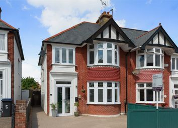 Thumbnail 3 bed semi-detached house for sale in Baddlesmere Road, Tankerton, Whitstable, Kent
