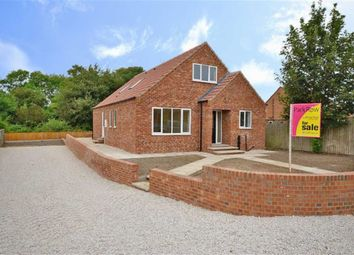 Thumbnail 4 bed detached bungalow for sale in George Street, Snaith, Goole