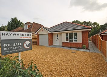 Thumbnail 3 bed detached bungalow for sale in Manor Road, New Milton