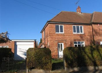 Thumbnail 3 bed semi-detached house to rent in Abbey Road, Beeston