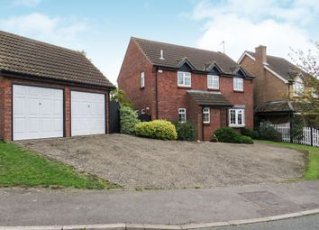 Thumbnail 4 bed detached house for sale in Julian Close, Haverhill
