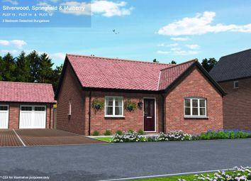 Thumbnail 2 bed detached bungalow for sale in Plot 14, Woods Place, Little Snoring, Norfolk