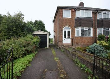 Thumbnail 3 bed semi-detached house for sale in Hillside Road, Werrington, Staffordshire