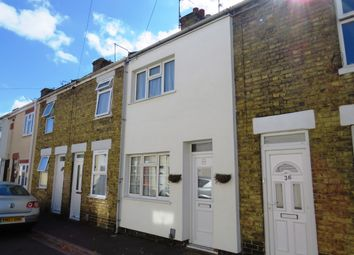 Thumbnail 2 bed terraced house for sale in Hankey Street, Peterborough