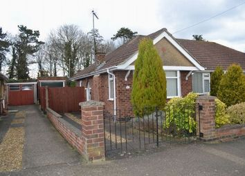 Thumbnail 2 bed semi-detached bungalow for sale in Coppice Drive, Parklands, Northampton