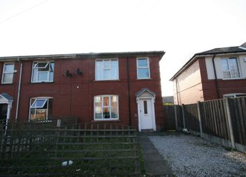 Thumbnail 3 bed semi-detached house to rent in Church Road, Newbold, Rochdale