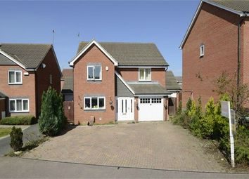 Thumbnail 4 bed detached house for sale in Melford Close, Corby, Northamptonshire