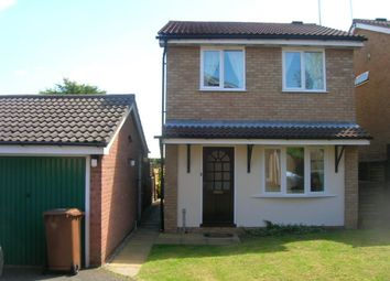 Thumbnail 3 bed detached house to rent in Medway Drive, Wellingborough