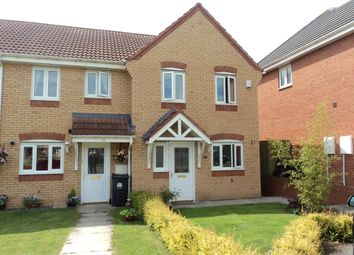 Thumbnail 3 bed terraced house to rent in Woodlands Green, Middleton St. George, Darlington