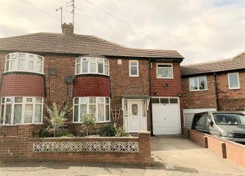 Thumbnail 5 bed semi-detached house for sale in Hawes Court, Seaburn Dene, Sunderland