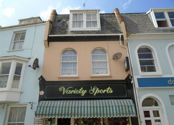 Thumbnail Commercial property for sale in Broad Street, Ilfracombe, Devon