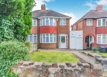 3 bed semi-detached house for sale in Saxondale Avenue, Birmingham, West Midlands B26
