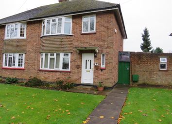 Thumbnail 3 bed semi-detached house for sale in Chestnut Crescent, Bletchley, Milton Keynes