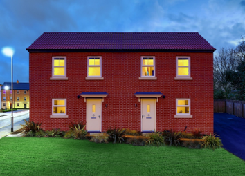 Thumbnail 3 bed semi-detached house for sale in The Pareti, Asket Drive, Leeds