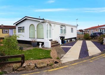 Thumbnail 2 bed mobile/park home for sale in Willow Park, Deeside