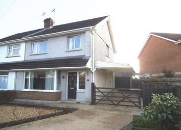 3 bed semi-detached house for sale in St Patrick's Drive, Wildmill, Bridgend CF31