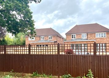 Thumbnail 4 bed detached house for sale in Vicarage Lane, Hound Green, Hook
