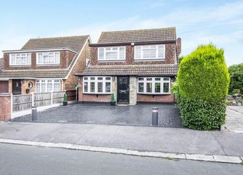 Thumbnail 4 bed detached house for sale in Walden Way, Hornchurch
