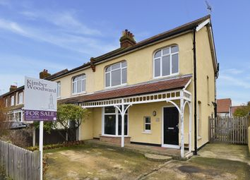 Thumbnail 3 bed semi-detached house for sale in Salisbury Road, Herne Bay, Kent