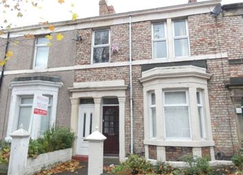 Thumbnail 3 bed flat to rent in Prince Consort Road, Gateshead