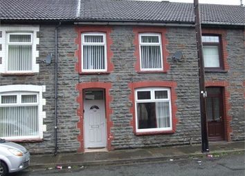 Thumbnail 1 bed terraced house to rent in Ynyscynon Road, Trealaw, Tonypandy, Rhondda Cynon Taff.