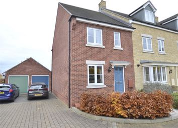 Thumbnail 3 bed end terrace house for sale in Merlin Close, Brockworth, Gloucester