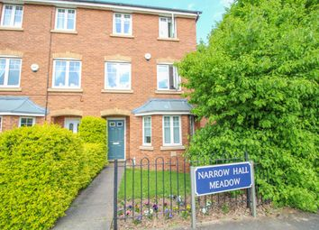 Thumbnail 4 bed town house for sale in Narrow Hall Meadow, Chase Meadow Square, Warwick