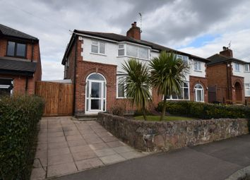 Thumbnail 3 bedroom semi-detached house for sale in North Drive, Humberstone, Leicester
