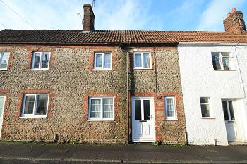 Thumbnail 2 bed terraced house to rent in Pound Street, Warminster, Wiltshire