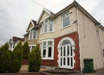 Thumbnail 3 bed semi-detached house for sale in Cardiff Road, Pontypridd