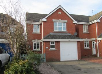 Thumbnail 3 bed detached house for sale in Rectory Drive, Bedworth, Warwickshire
